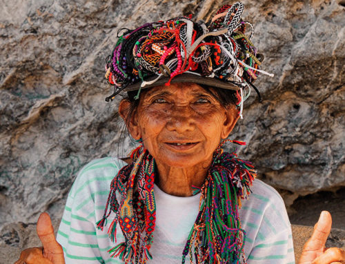 Meeting remote tribes in Peru